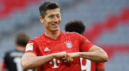 Bayern Munich vs Fortuna Duesseldorf, Bayern Munich beat Fortuna Duesseldorf, Robert Lewandowski, Bundesliga 2020, football news