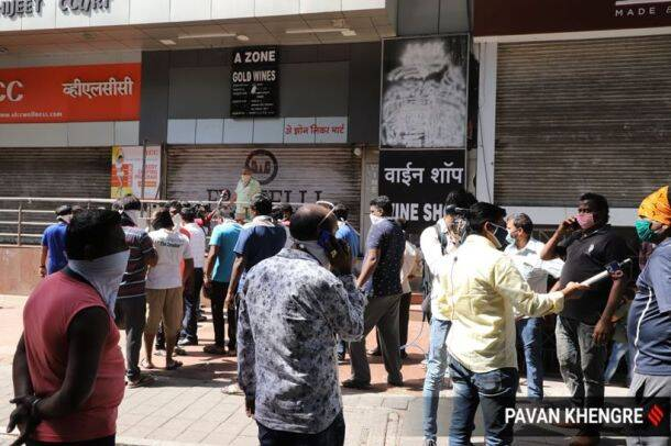 Liquor shops reopening gallery