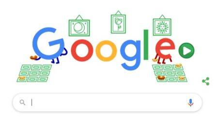 google doodle, Lotería, Lotería google doodle, google stay and play at home doodle, google covid 19 throwback doodles, Cinco de Mayo, Cinco de Mayo annual celebrations, indian express