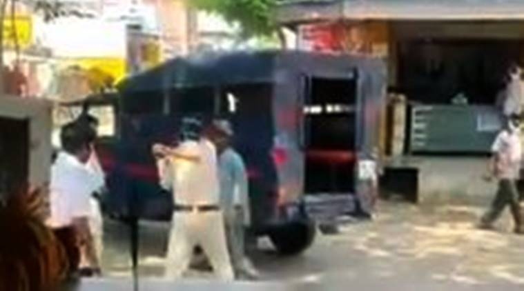 Madhya Pradesh: Video of police assaulting man goes viral on social media, two cops suspended