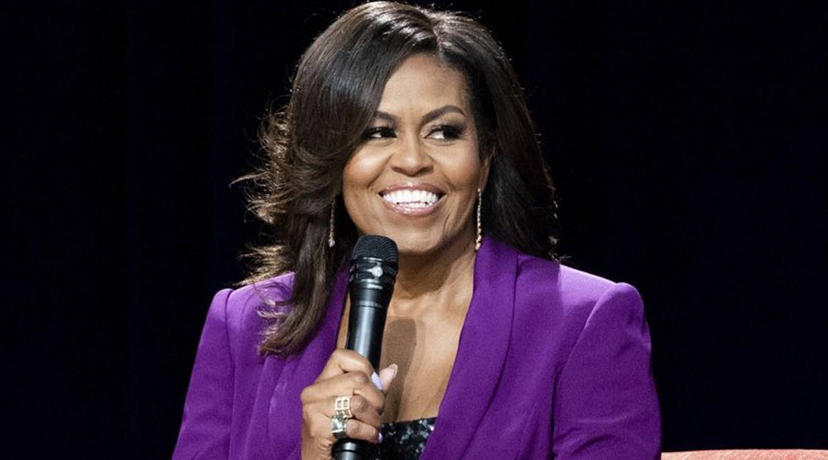 Michelle Obama, Michelle Obama on US elections, Michelle Obama to US voters, Donald Trump, Joe Biden, US elections 2020, world news, Indian express