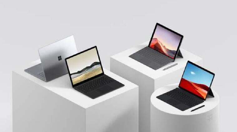 Microsoft Surface Laptop 3, Microsoft Surface Pro 7, Microsoft Surface Pro X, Microsoft, Microsoft Surface, Microsoft Windows, Microsoft Surface Laptop 3 launched in India, Microsoft Surface Pro 7 launched in India, Microsoft Surface Pro X launched in India