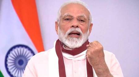 Modi talks Covid with Mauritius PM, Lankan President