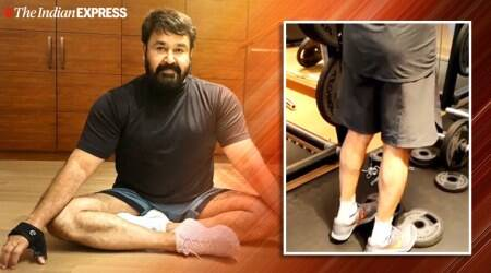 happy birthday mohanlal, mohanlal birthday, standing calf raise, standing calf raise benefits, fitness goals, mohanlal fitness, indianexpress.com, indianexpress,