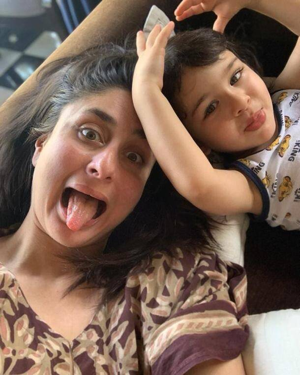 kareena kapoor khan with taimur