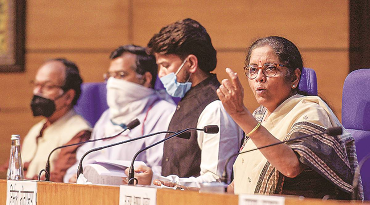Finance Minister Nirmala Sitharaman, coronavirus pandemic, economic package, reform proposals, indina express news
