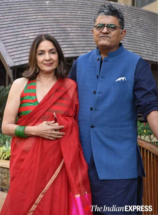 neena gupta, neena gupta sari looks, neena gupta masaba gupta sari looks, neena gupta masaba gupta, neena gupta photos, indian express, indian express news