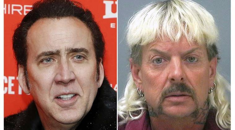 Nicolas Cage to star as Joe Exotic