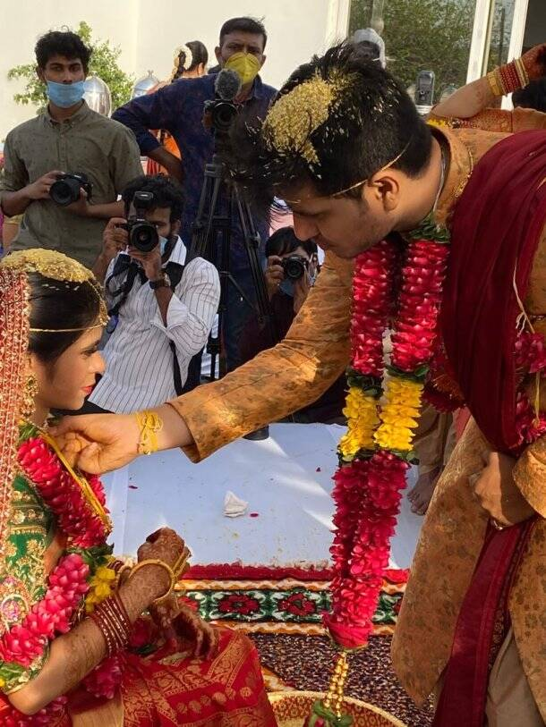 Nikhil Siddhartha wedding
