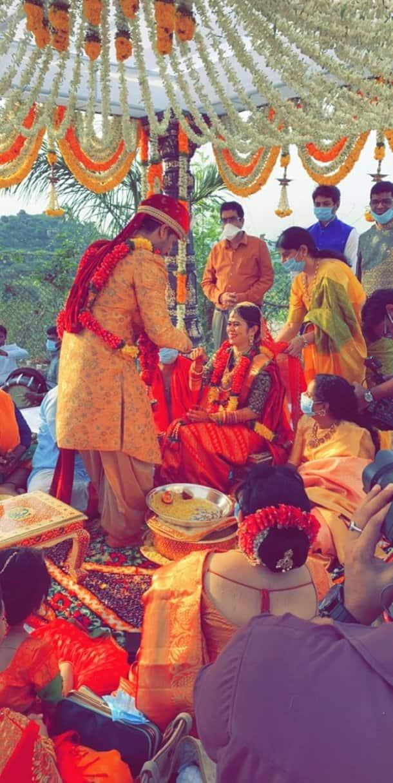 Nikhil marriage