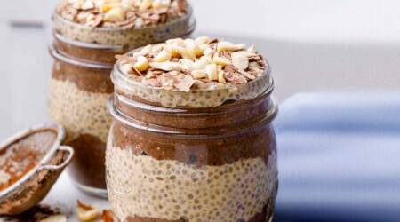 oats, chia seeds, chia seeds breakfast, oats breakfast, chia seed pudding, indian express news