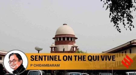 supreme court, SC judgments, p chidamabaram, indian economy, Chidambaram column, demonetisation, sc on demonetisation, article 370, Court, Justice Patanjali Sastri