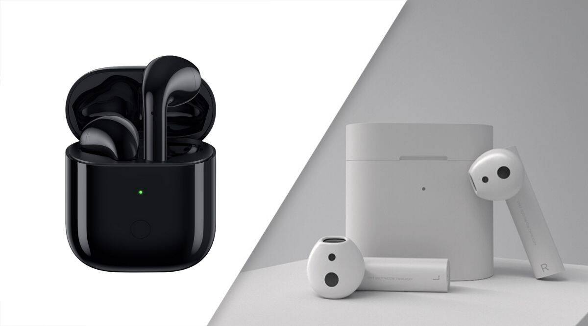 Mi True Wireless Earphones 2 Vs Realme Buds Air Which Truly Wireless Earphones Make More Sense Technology News The Indian Express