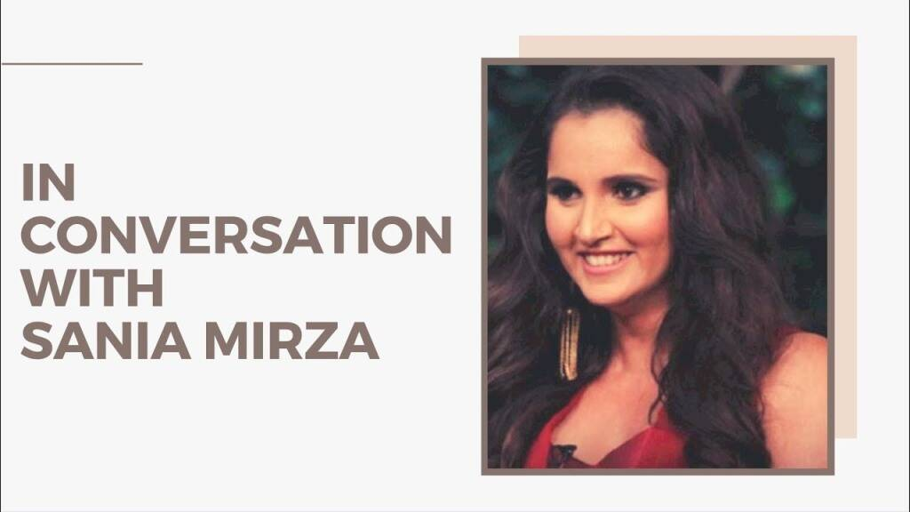 "In Conversation With tennis star ""Sania Mirza"" 