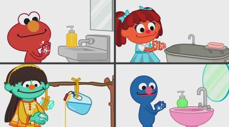 Sesame Workshop India, Sesame Street, keeping kids educated and informed about coronavirus, parenting, indian express, indian express news