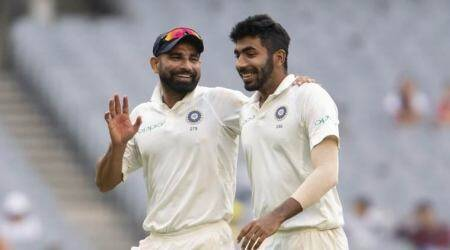 Ian Bishop, Jasprit Bumrah, Jasprit Bumrah spell in West Indies, jasprit bumrah run up, jasprit bumrah pace, indian bowling attack, Mohammed Shami, Umesh Yadav, Ishant Sharma, cricket news