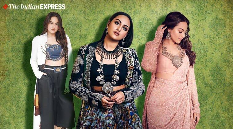 All the times Sonakshi Sinha floored us in Anamika Khanna outfits