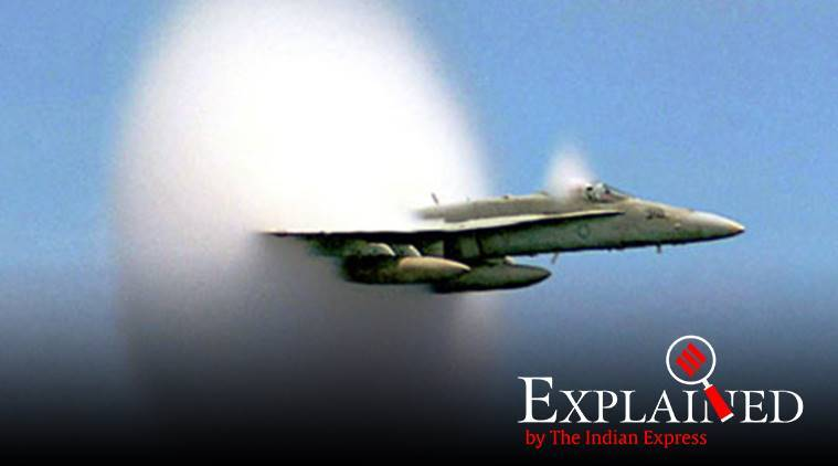 Bangalore loud sound, sonic boom, what was the loud sound heard in Bangalore, what is a sonic boom, aircraft faster than sound, Indian Air Force, Aircraft Systems and Testing Establishment (ASTE), express explained, indian express