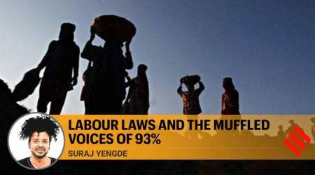 labour laws, suspension of labour laws, labour laws suspended, labour laws UP, labour laws Gujarat, Suraj Yengde writes, Express Opinion, Indian Express