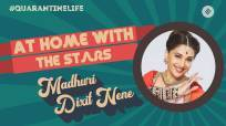 Madhuri Dixit Nene talks about shooting her debut song 'Candle' | At Home With the Stars