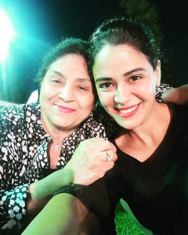 mona singh on Mother's day