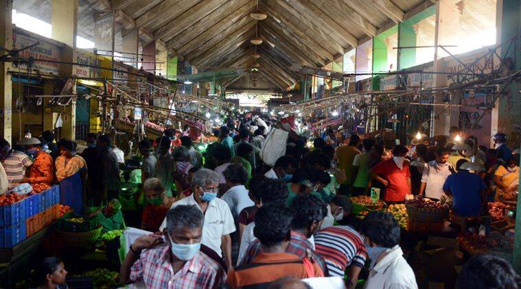 Tamil Nadu Covid-19 update: Koyambedu market hotspot has more cases than Tablighi cluster now