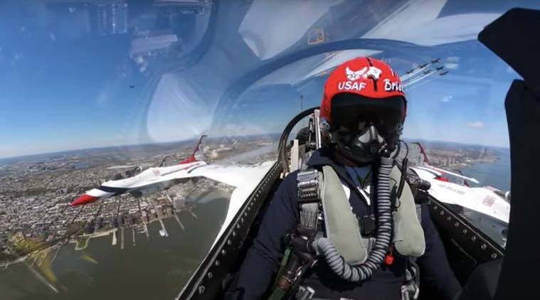 US, Aerobatic, Thunderbirds, US NAvy, US Air force, tribute, Operation America Strong, Donald Trump, Doctors, emergency responders