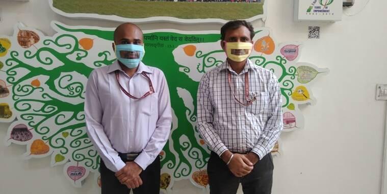 transparent masks, clear masks, indianexpress.com, indianexpress, deaf community, hearing impaired community, people with disabilities, ISLRTC, NIEPVD, social justice and empowerment ministry,