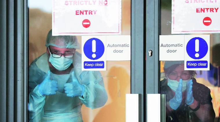 Coronavirus, coronavirus lockdown, India lockdown, coronavirus doctors, UK's Covid battle, Coronavirus london, coronavirus pandemic, NHS workforce, Indian express news