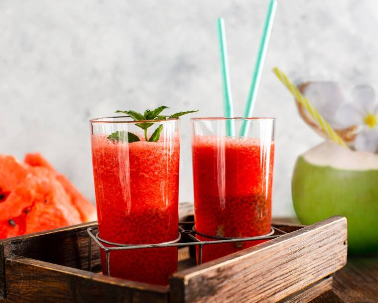 watermelon recipes, watermelon coolers, summer cooler recipes, indianexpress.com, summer drinks, indianexpress, caterspoint,