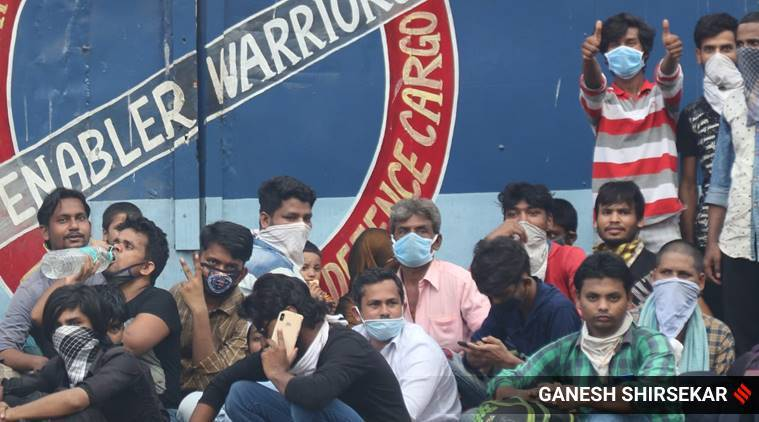 Mumbai: Two trains to UP cancelled, over 2,500 migrant workers turned back