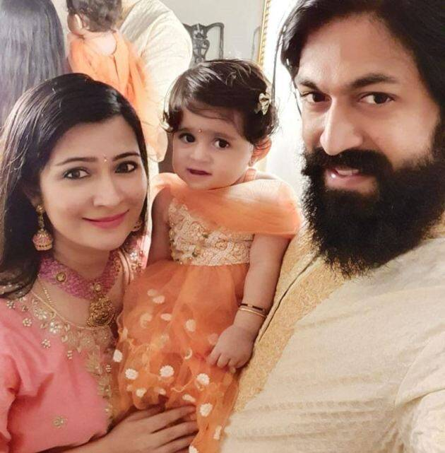 yash and radhika family album