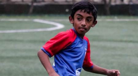 lockdown diaries, 12 year old in lockdown, Yohaan Philip Jose blog, football, playing, COVID-19, parenting, indian express, indian express news