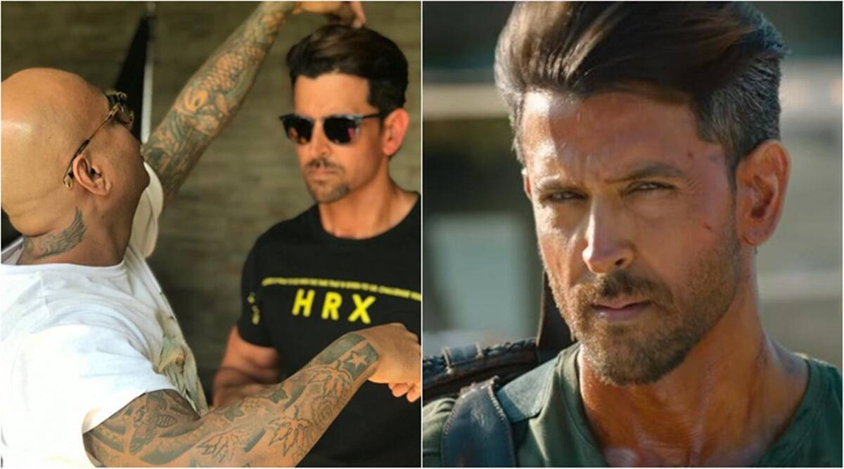 Aalim Hakim Reveals How He Convinced Hrithik Roshan To Sport Short Hair In War Entertainment News The Indian Express