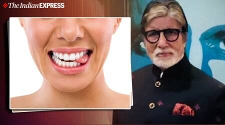 amitabh bachchan, tongue biting