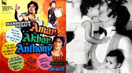 Amitabh Bachchan revisits Amar Akbar Anthony as the film completes 43 years of release