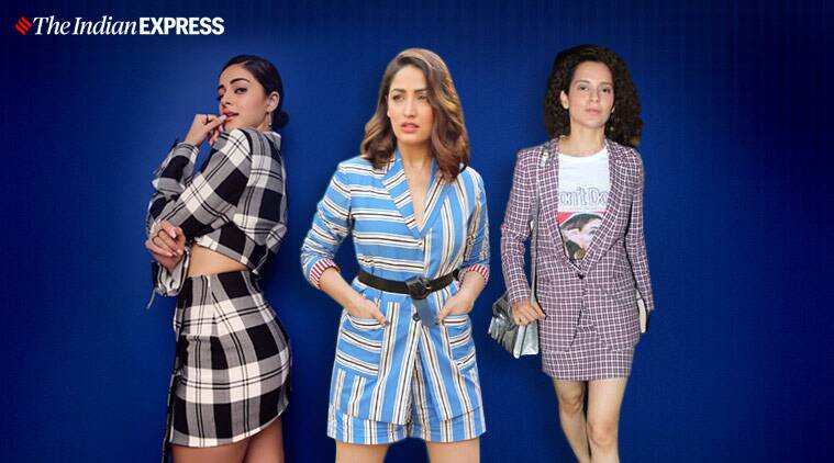 Bollywood's summer vibe is all about blazers and shorts