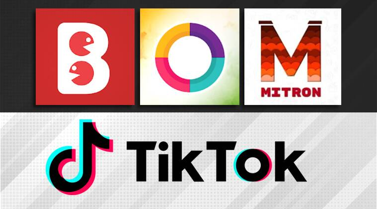 tiktok banned, tiktok indian alternative, mitron, bolo indya, roposo