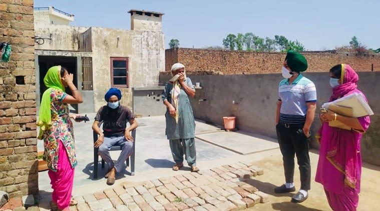 coronavirus, coronavirus outbreak, asha workers, asha workers test positive, punjab asha workers pay, indian express news