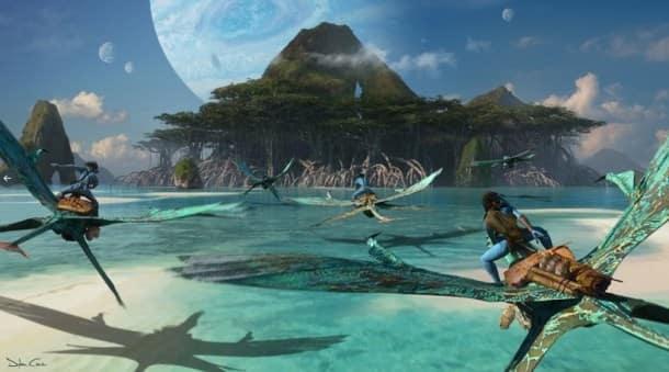 avatar sequels concept art