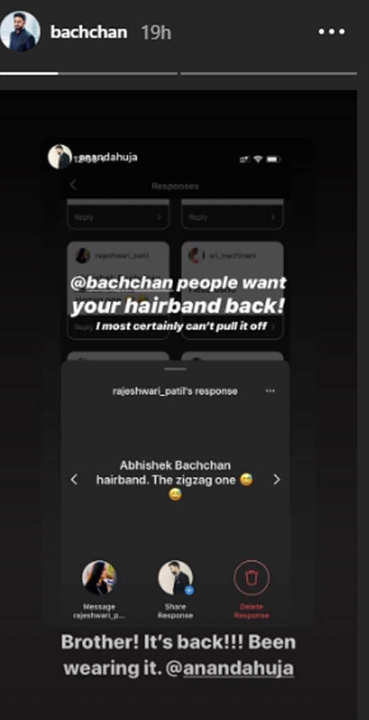 abhishek bachchan, anand ahuja, hairstyle