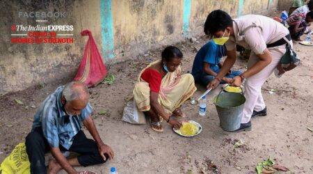 Local cops in Bengal remember the forgotten, with a daily lunch van