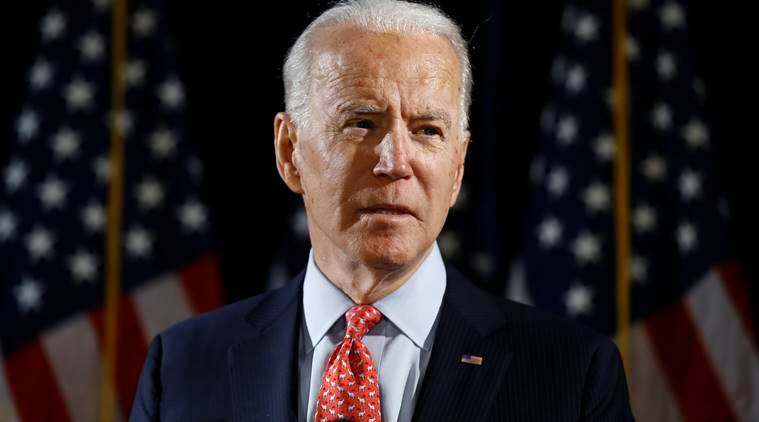 Biden says he doesn't see a V-shaped recovery for U.S. economy