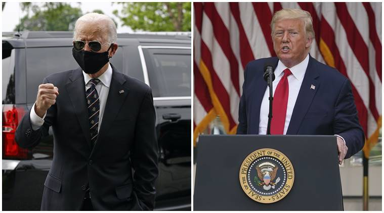 Biden calls Trump a fool for mocking masks during pandemic