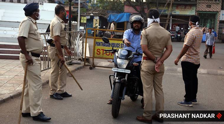 Coronavirus lockdown, Covid-related duties, Maharashtra police, Pune news, Maharashtra news, Indian express news