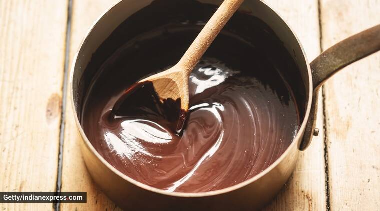 How to make chocolate ganache at home How to make ganache at home How to make chocolate glaze at home How to make ganache without cream at home Cake decorating ideas Easy cake decoration Cake designs Chocolate syrup at home Hot chocolate at home