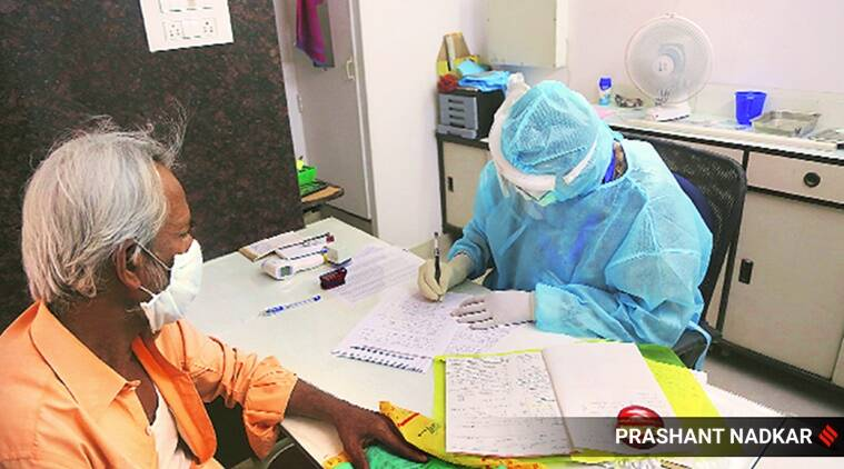 coronavirus, coronavirus in maharashtra, coronavirus cases i dharavi, coronavirus cases toll in maharastra, coronavirus test in maharashtra, coronavirus containtment zones in maharashtra, indian express news