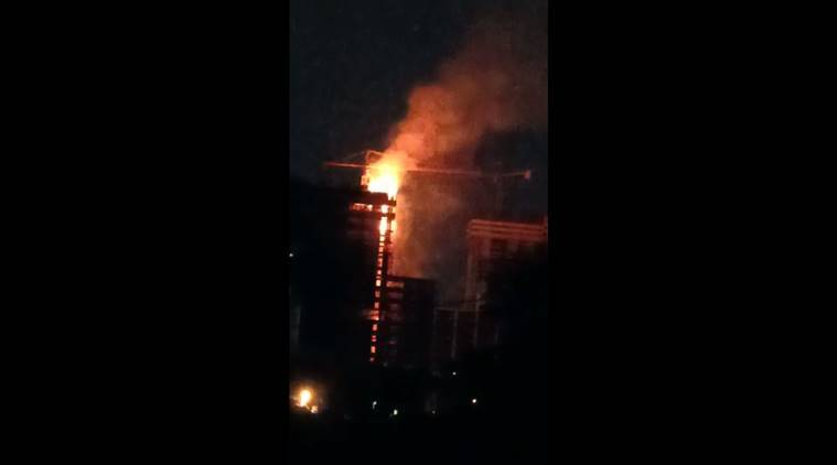 Kochi: Major fire breaks out at under-construction building