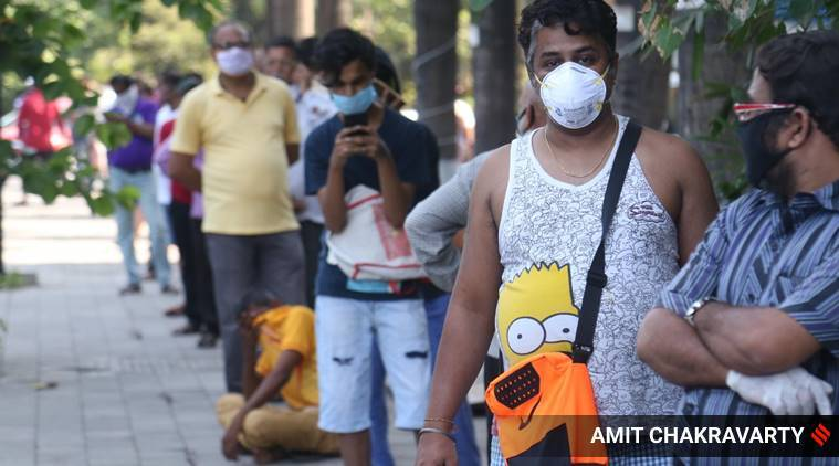 mumbai coronavirus lockdown, mumbai covid 19 cases, bmc lockdown relaxations, mumbai shops, mumbai news, latest news, indian express