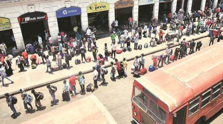 migrant workers, Delhi police, coronavirus, UP government, Indian express news
